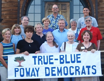 14 of the 21 founding members of the Poway Democratic Club